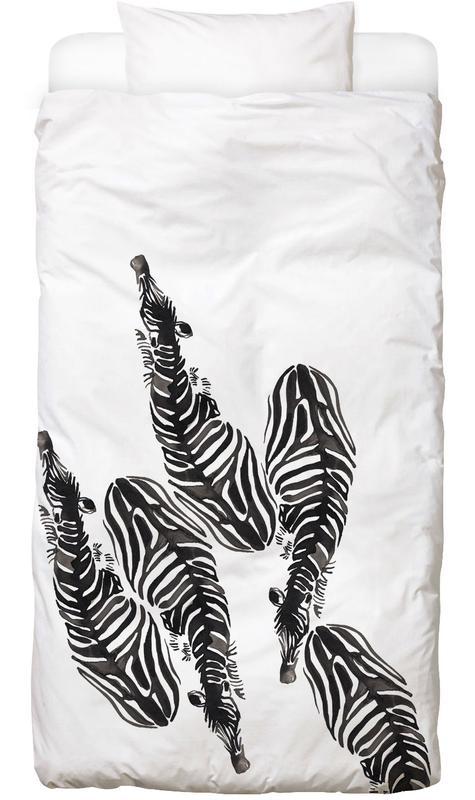 Zebra housse de couette enfant