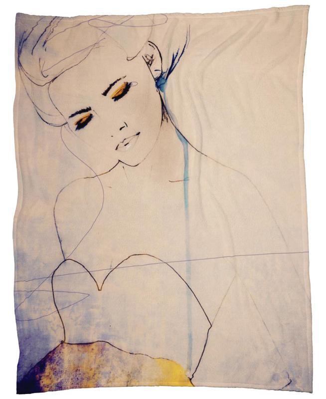 Abstractions Aside Fleece Blanket