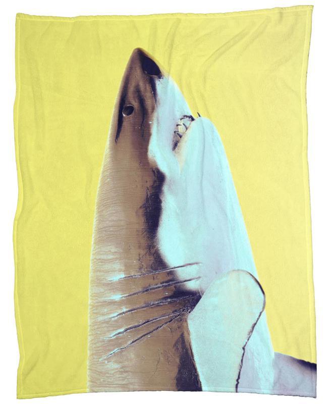 Attack! Yellow Fleecedecke   Heimtextilien > Decken und Kissen > Mehr-Decken   Mehrfarbig