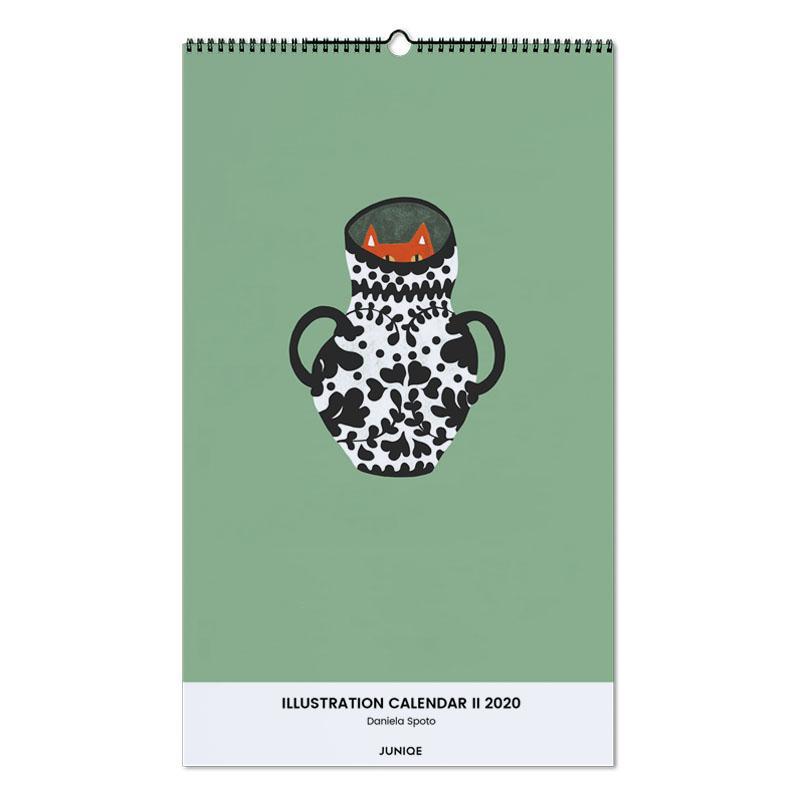 Illustration Calendar II 2020- Daniela Spoto Wall Calendar