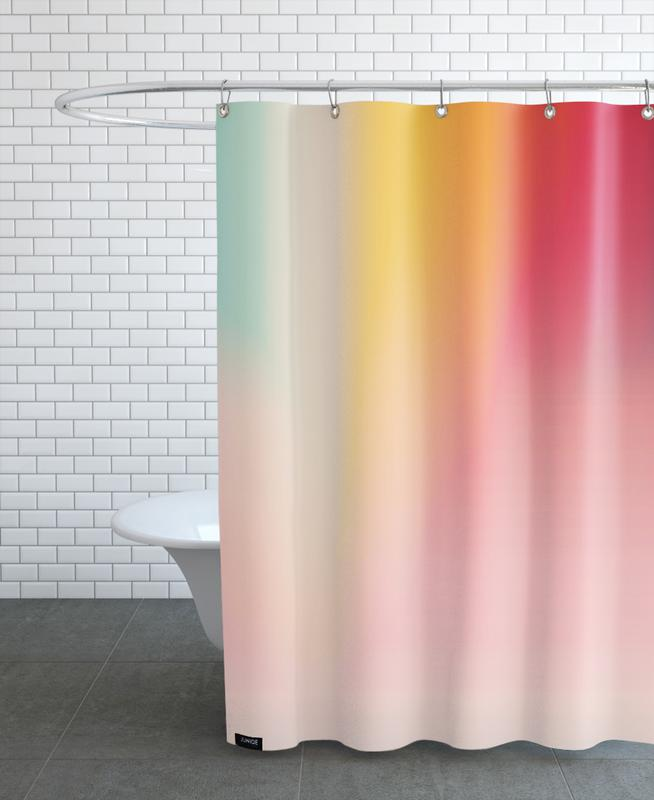 Melting Colours Duschvorhang | Bad > Duschen | Mehrfarbig | Polyester