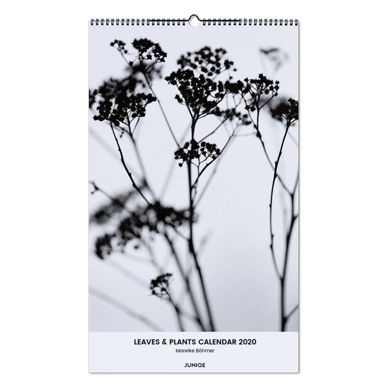 Leaves & Plants Calendar 2020 - Mareike Böhmer Wall Calendar