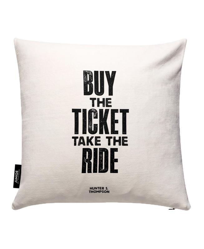 Buy The Ticket JUNIQE Kissenhülle | Heimtextilien > Bettwäsche und Laken > Kopfkissenbezüge