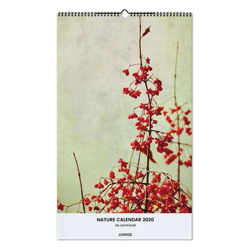 Nature Calendar 2020 - Iris Lehnhardt Wall Calendar
