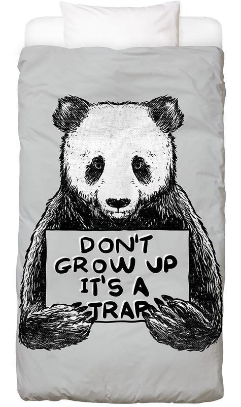 Don't Grow up housse de couette enfant
