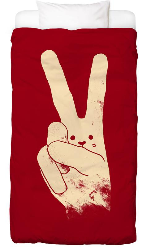 Love, Peace and Carrots Bed Linen