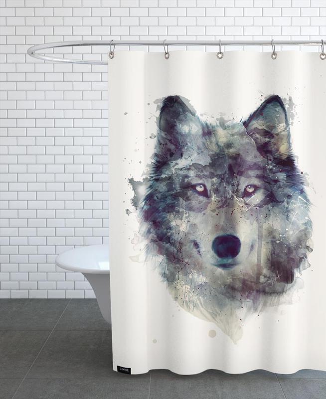 Persevere Shower Curtain