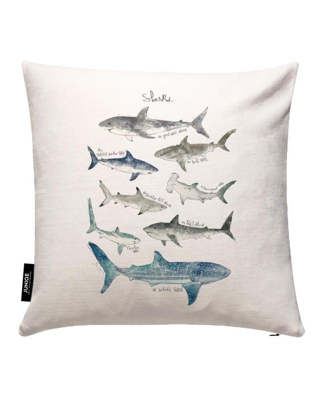 Sharks Cushion Cover