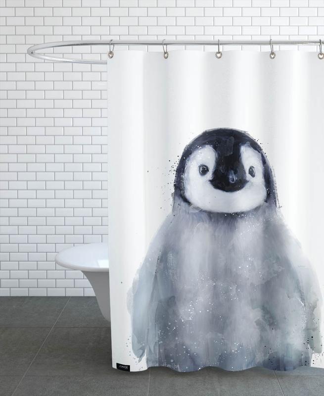 Little Penguin -Duschvorhang