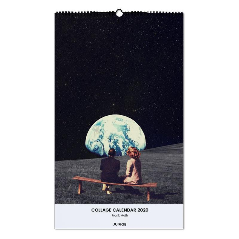 Collage Calendar 2020 - Frank Moth Wall Calendar