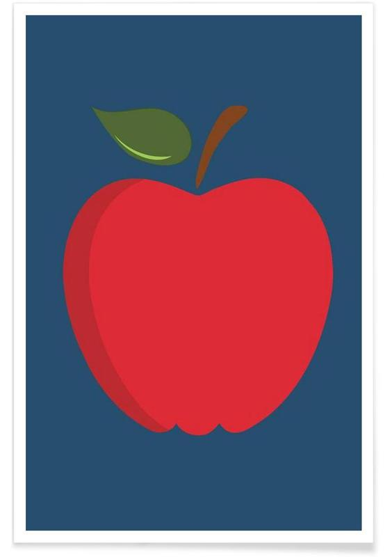The Red Apple Poster poster
