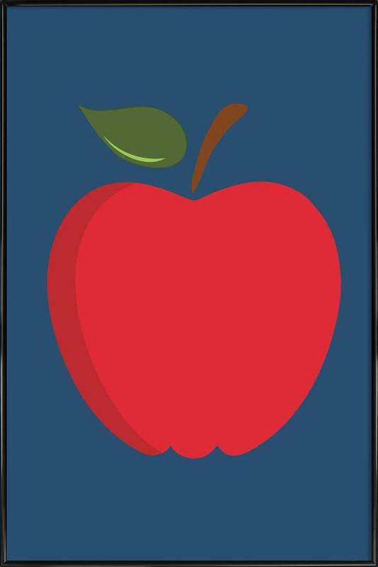 The Red Apple Poster Framed Poster