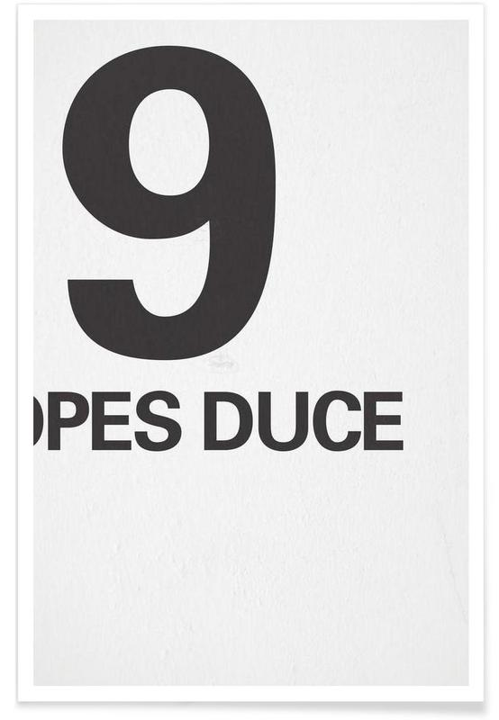 The Duce Poster poster