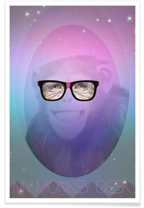 My Monkey Geek affiche