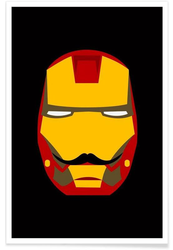 Iron Stache poster