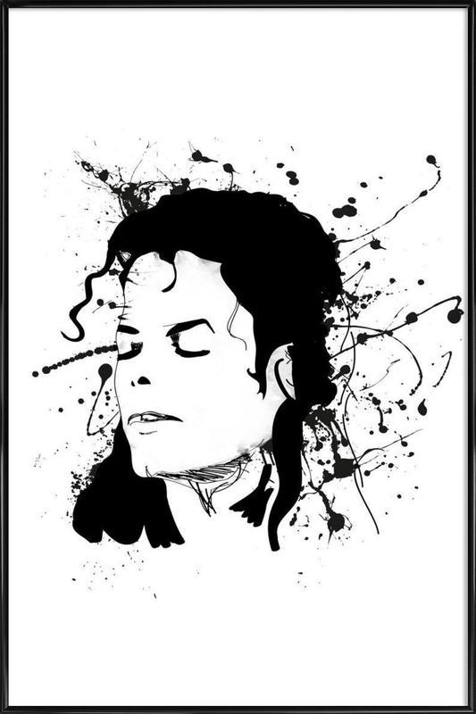 Michael -Bild mit Kunststoffrahmen