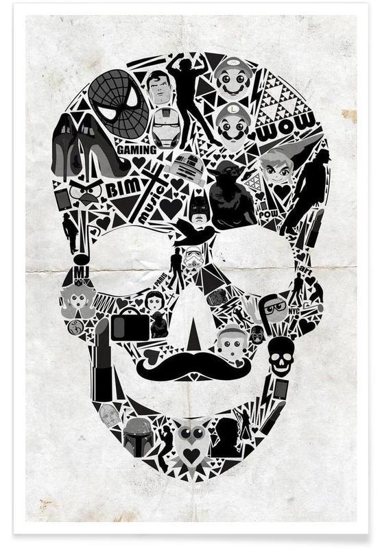 My Skull affiche