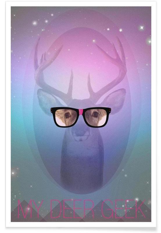 My Deer Geek affiche
