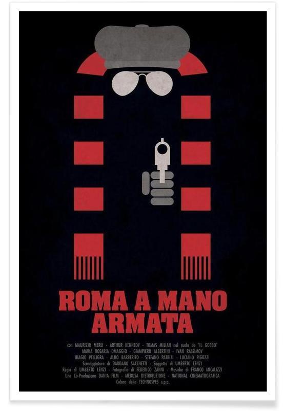Roma a Mano Armata affiche