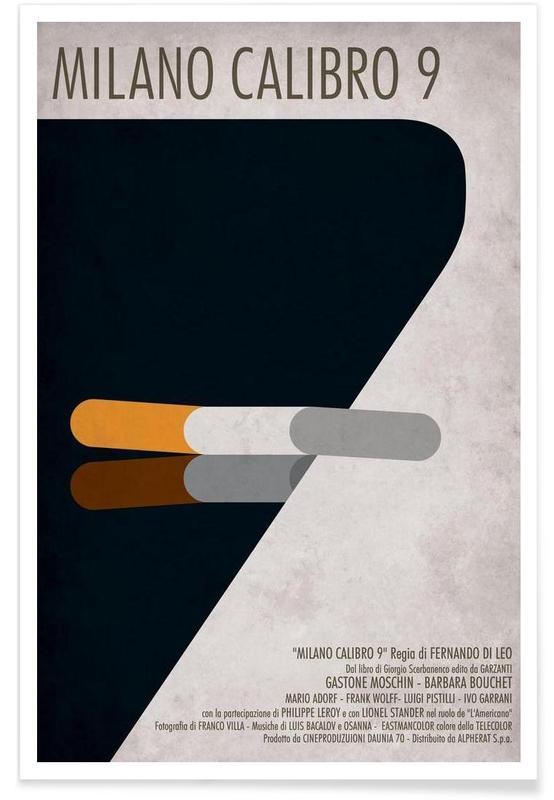 Milano Calibro 9  -Poster