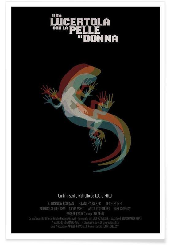 Una Lucertola con la pelle di Donna Poster
