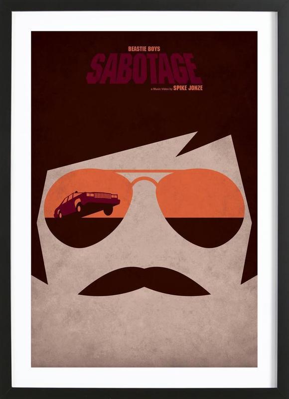 Sabotage Framed Print