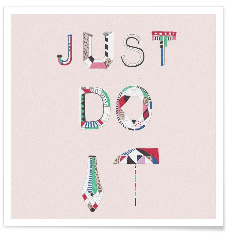 Just do it affiche