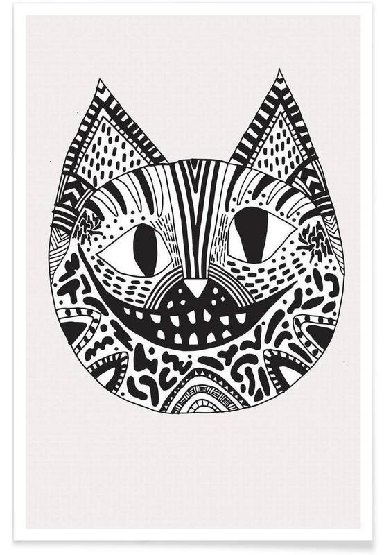 Cheshire cat affiche