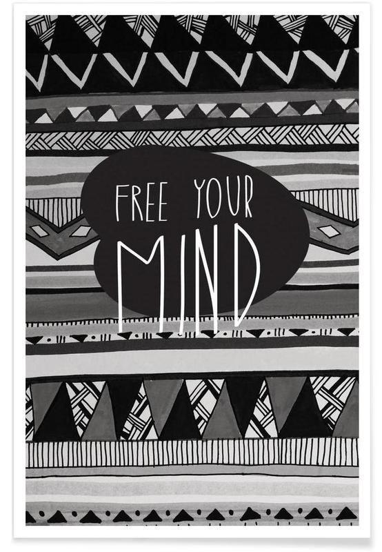 Free your mind affiche