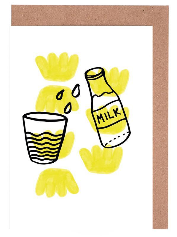 Milk Grußkartenset