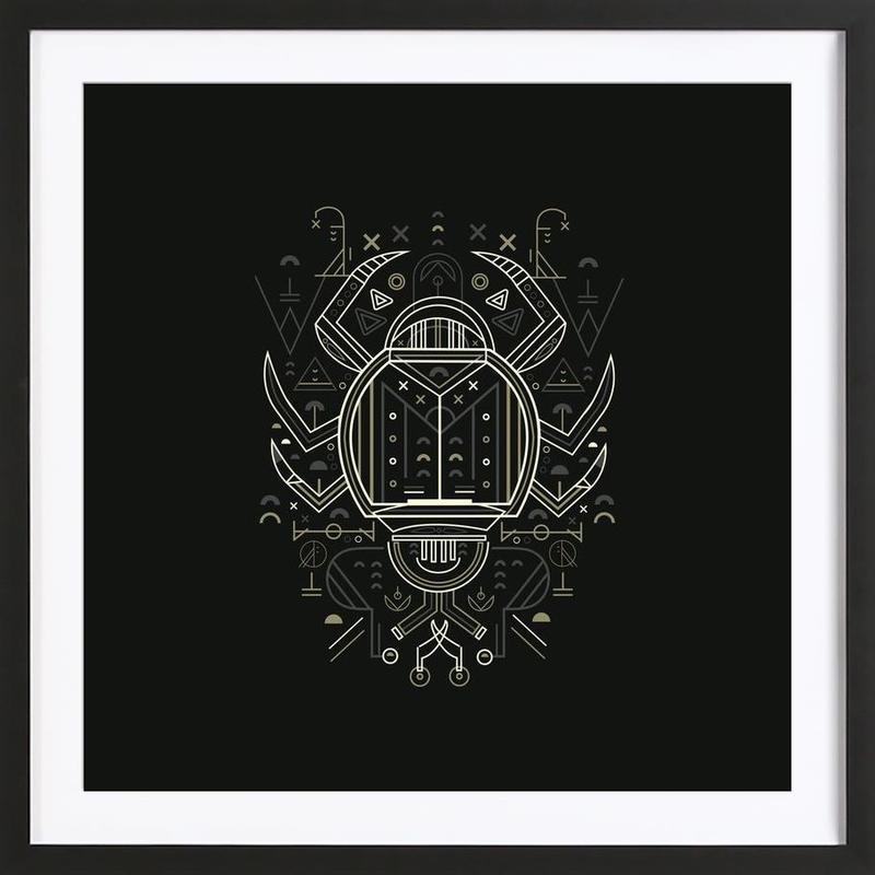 Zenith Beetle ingelijste print