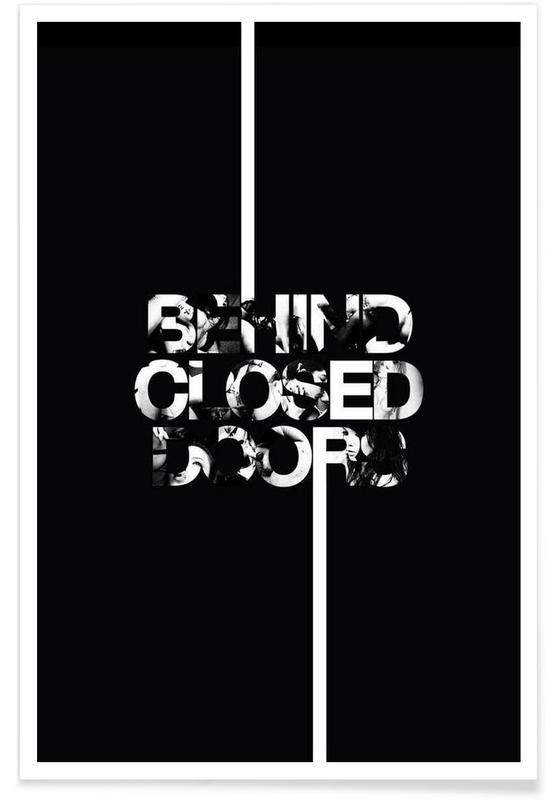 Behind Closed Poster