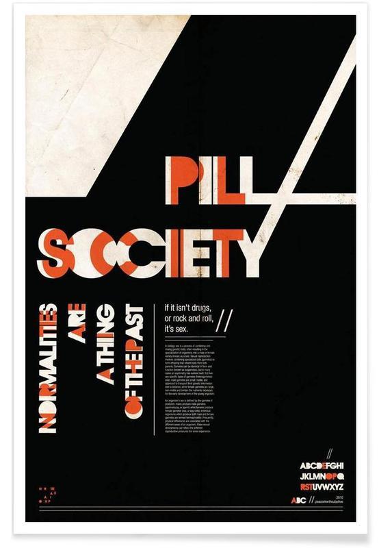 Pill Society Poster