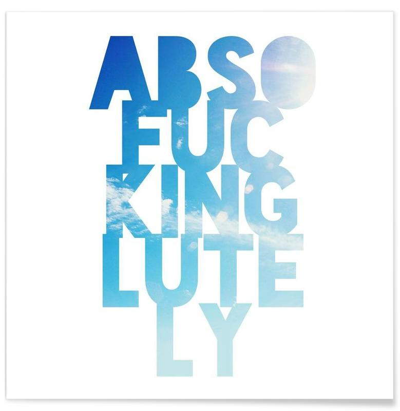 Abso...lutely! -Poster