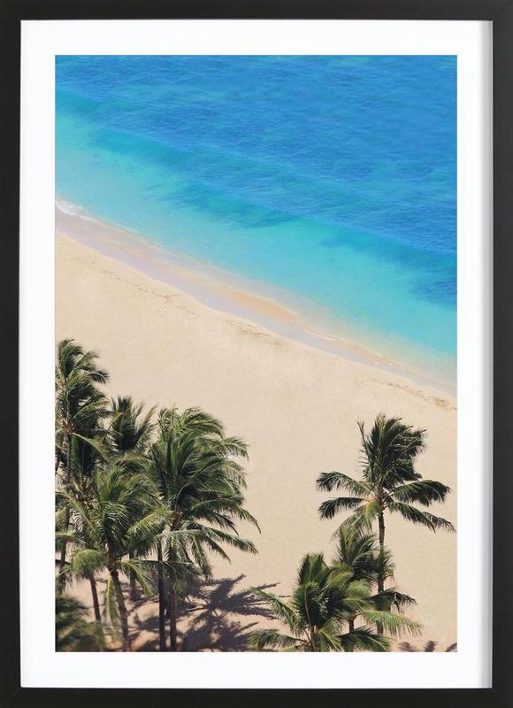 Hawai Dreams -Bild mit Holzrahmen