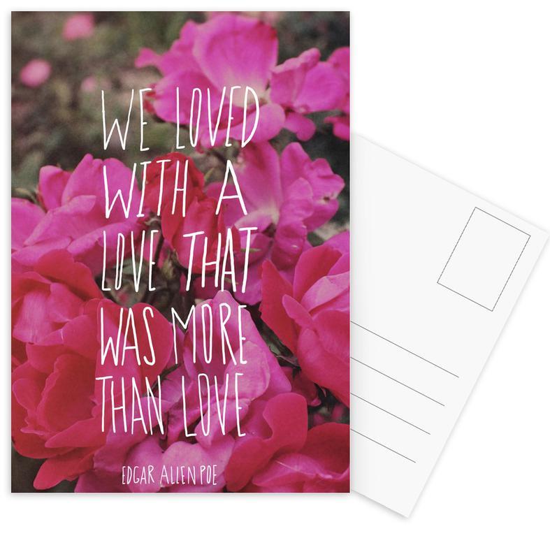 Poe Love Postkartenset | Dekoration > Accessoires