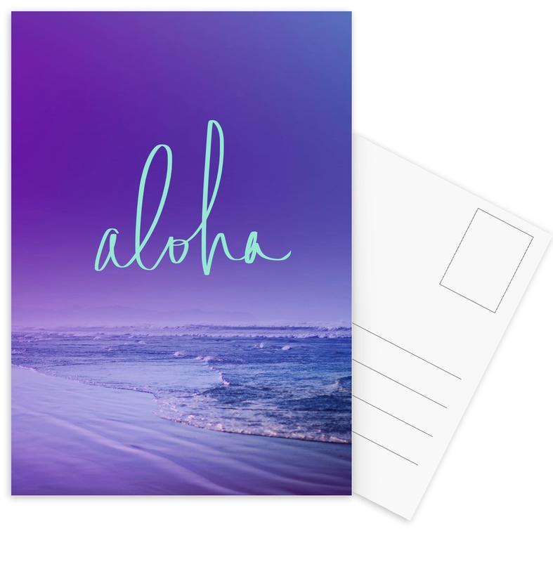 Aloha Postcard Set
