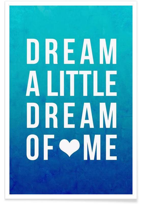 Dream Blue Poster
