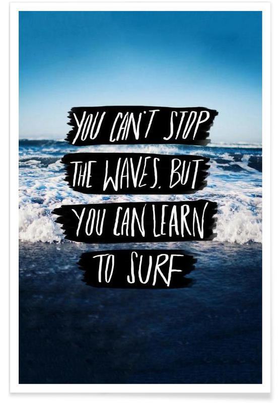 Learn to Surf -Poster