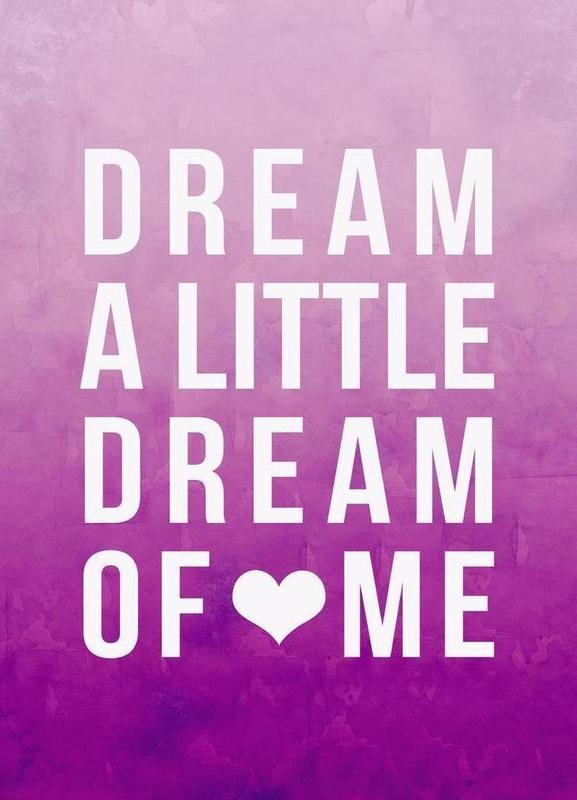 Dream Pink canvas doek