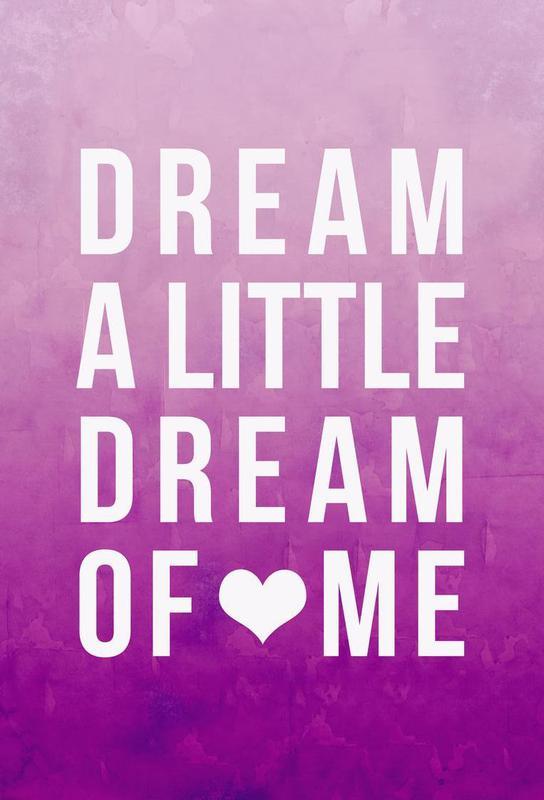 Dream Pink -Alubild