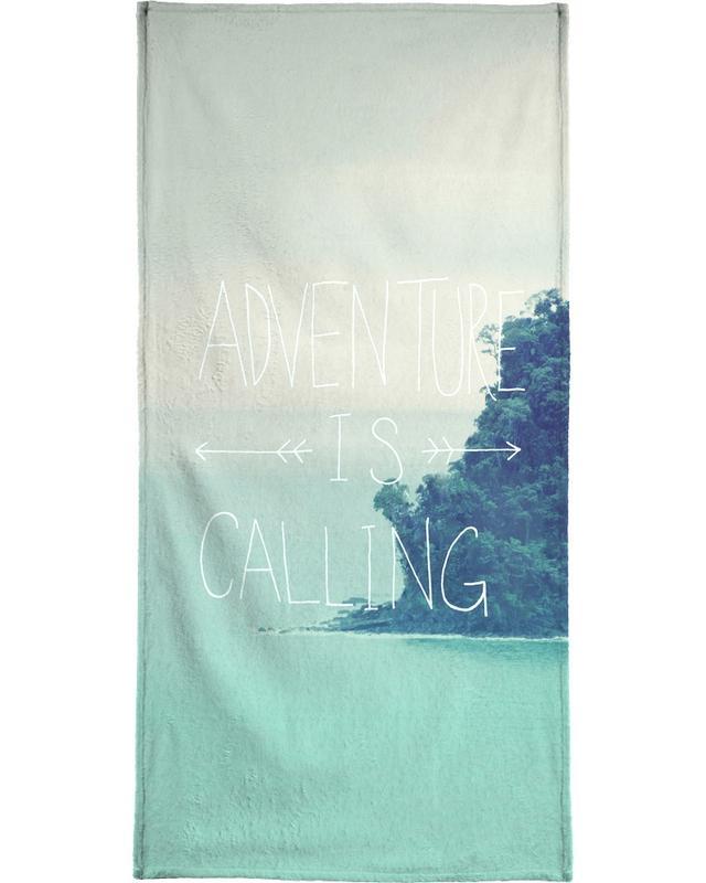 Adventure is Calling serviette de plage