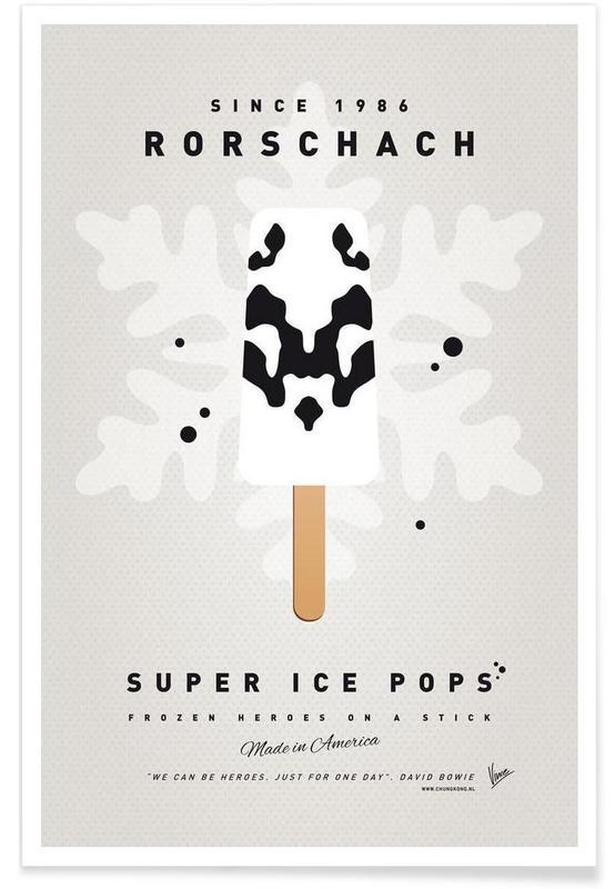 My Superhero Ice Pop - Rorschach affiche