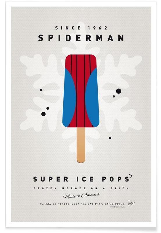 My Superhero Ice Pop - Spiderman poster