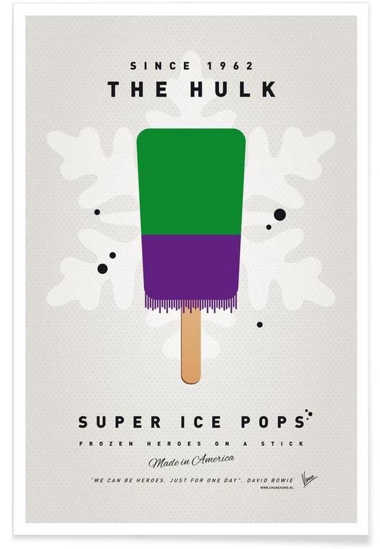 My Superhero Ice Pop - The Hulk affiche