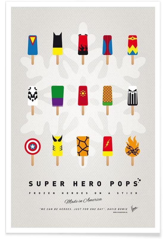 My Superhero Ice Pop - Universe poster