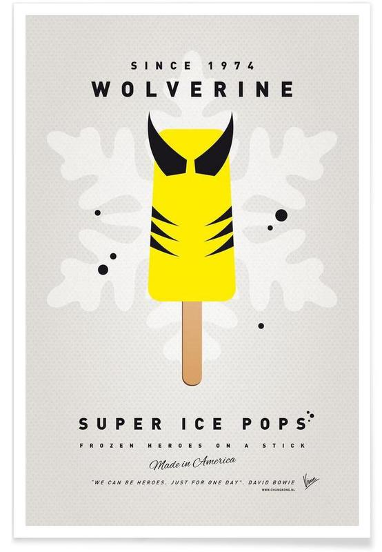 My Superhero Ice Pop - Wolverine poster