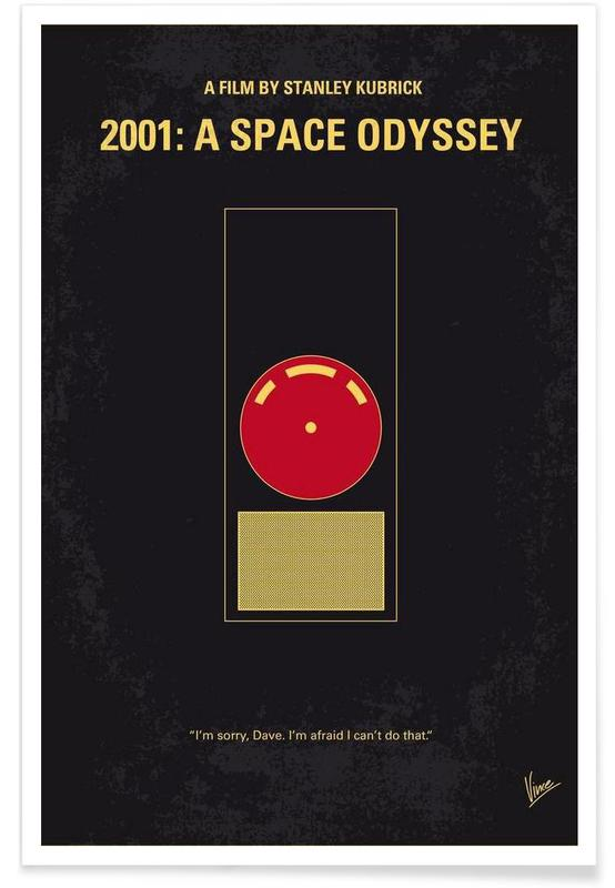 2001 - A Space Odyssey poster