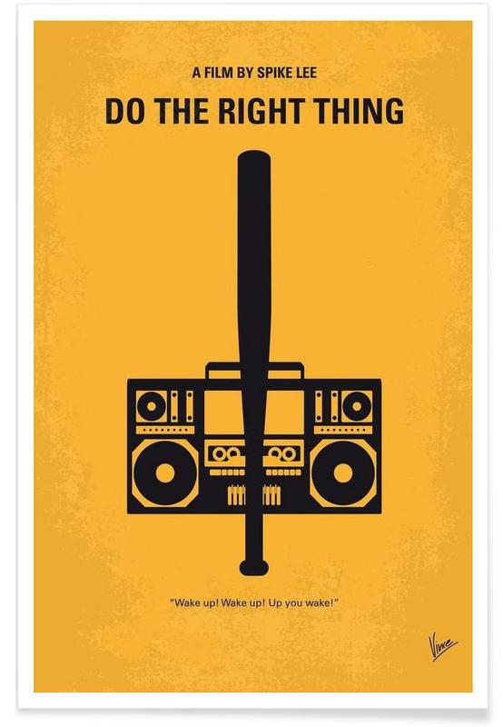 Do the right thing affiche
