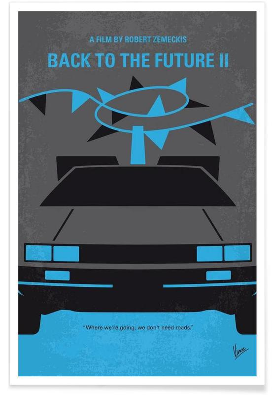 Back to the Future II Poster